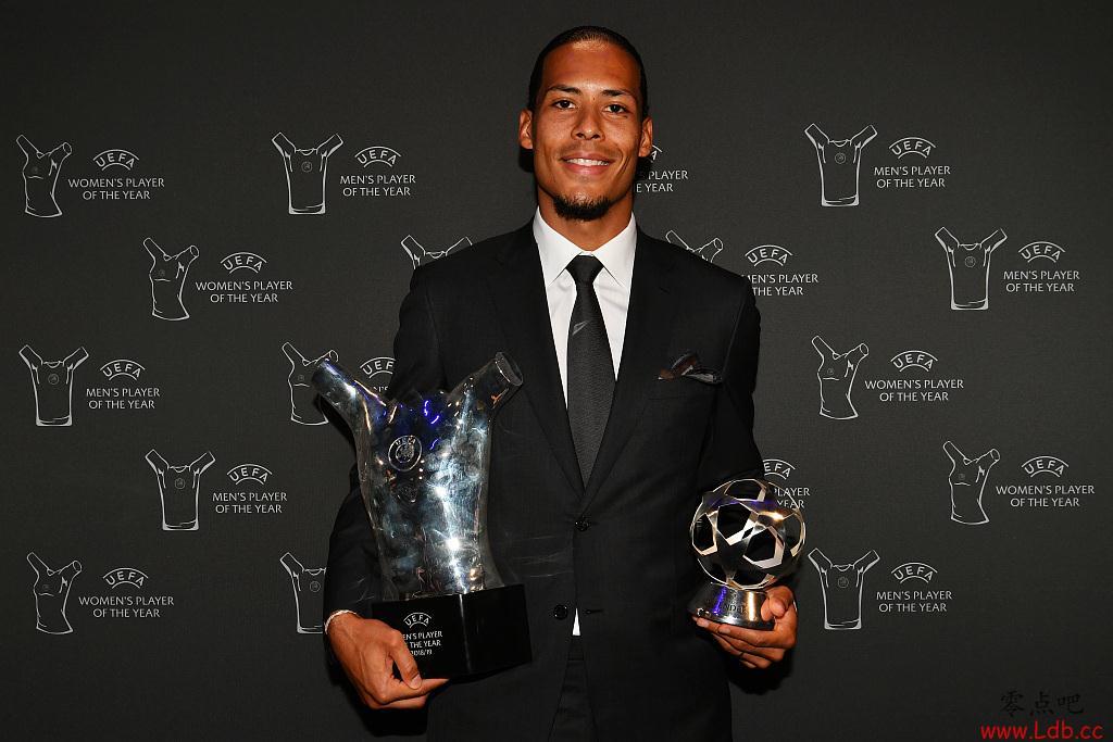 科曼:赢得欧足联最佳球员很了不起,我为范迪克自豪