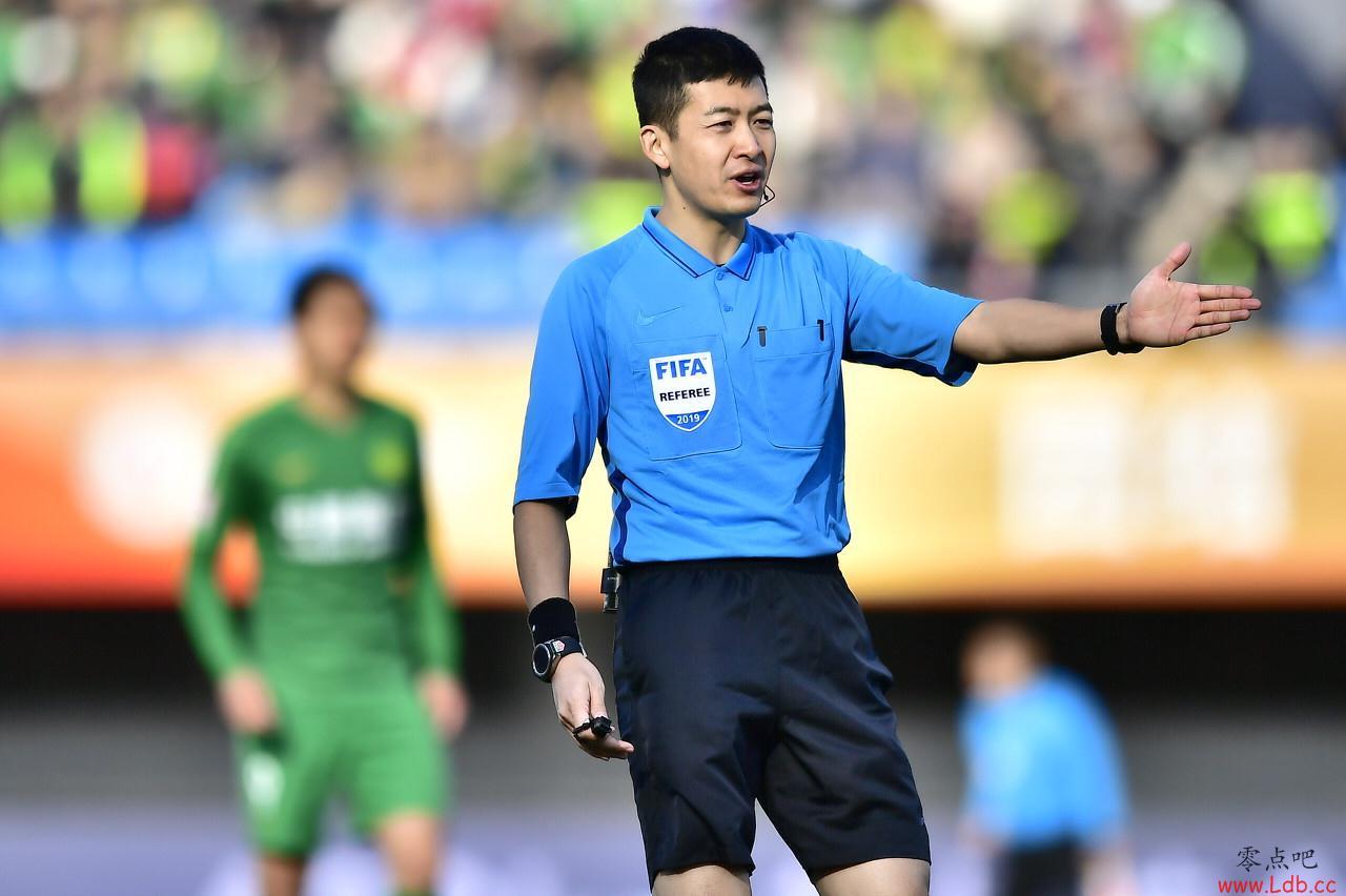 今日裁判安排:金京元吹罚华夏对阵国安,卓尔上港主裁张雷